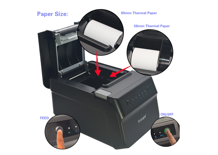 Scangle SGT-88IV 80mm Thermal Receipt Printer - Receipt Thermal